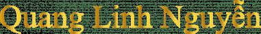 Quang Linh Nguyễn Logo Gold